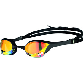 arena Cobra Ultra Swipe Mirror Okulary pływackie, yellow copper/black
